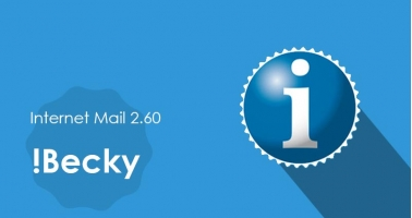 Some reminders about Becky! Internet Mail 2.60 - Intertuto
